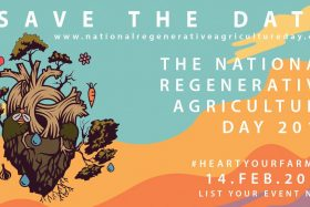 Farmers hijack Valentine's Day for NATIONAL REGENERATIVE AGRICULTURE DAY