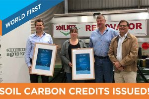 WORLD-FIRST-SOIL-CARBON-CREDIT-ISSUED