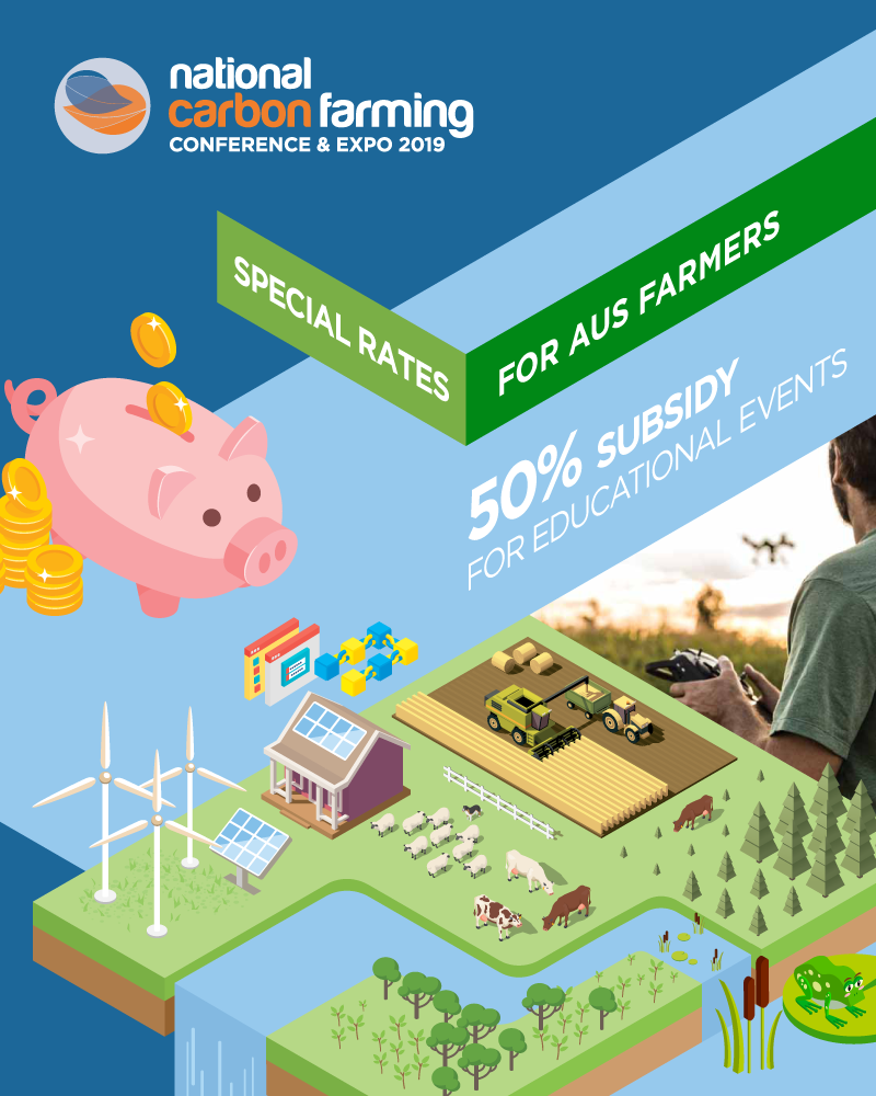 all australian farmers can attend conference half price
