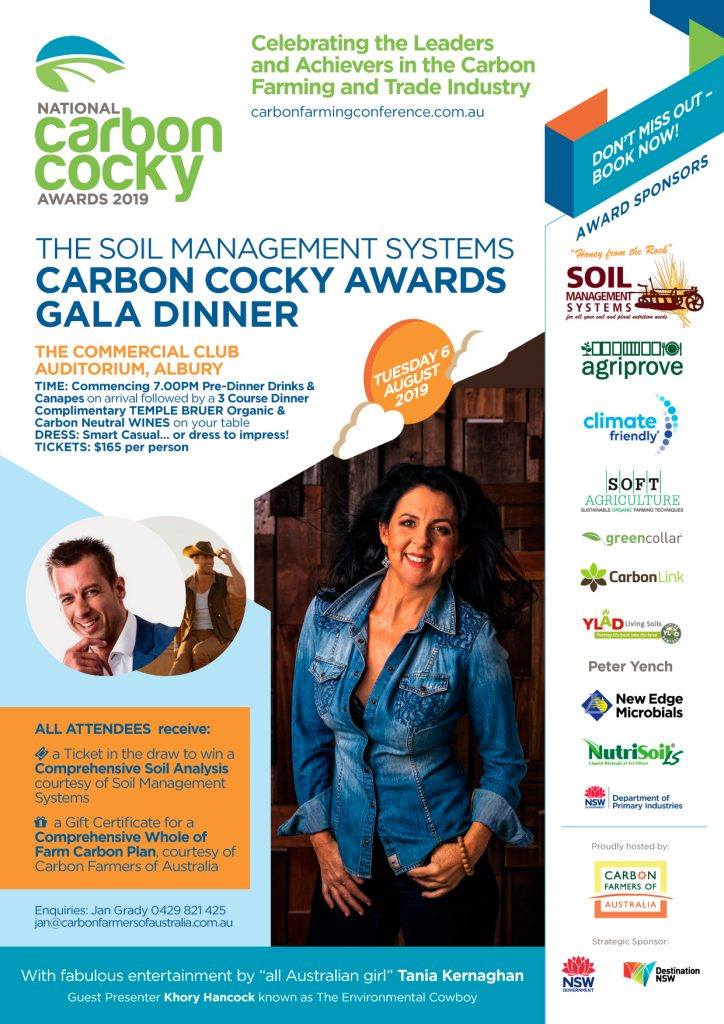 National Carbon Cocky Awards Gala Dinner